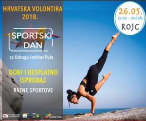 Volonterski centar Istre i Udruga ZUM organiziraju Sportski dan za udrugu Institut Pula