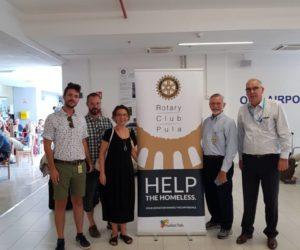 Sponzorstvo Rotary kluba Pula