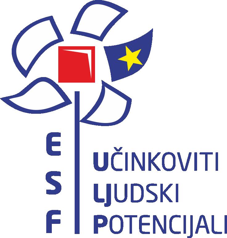 Logo ESF - Učinkoviti ljudski potencijali